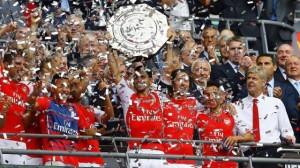 Arsenal trophée